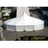 Quality High Peak Enclosed Canopy Tent Wedding Reception Rain Tents Outdoor Events for sale