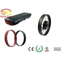 Quality 10 Hours Charging Time Fat Tire Electric Bike Conversion Kit With Hand Grip for sale