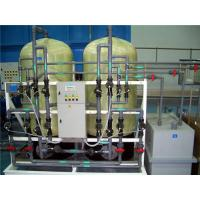 Quality Different Capacities Water Softener Plant For Industrial Use Simple Installation for sale