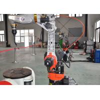 China Multistation Robotic Mig Welding Machine Electric Drive 1400mm Max Reach Fully Digital on sale