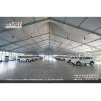 Quality 30m White PVC High Peak Tents with Hard Pressed Extruded Aluminum Alloy Frame for sale