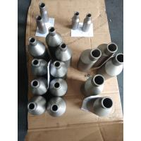 Quality Silver Color Titanium Alloy Pipe Reducer Welded Seamless Surface Finished for sale