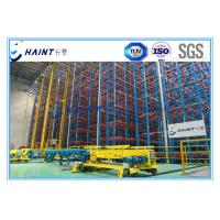 Quality Heavy Duty ASRS Automated Storage Retrieval System , Automated Warehouse Racking Systems for sale
