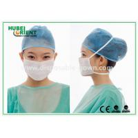 Quality 3- Ply Surgical Disposable Face Mask For Clinics / Hospitals , with ties for sale