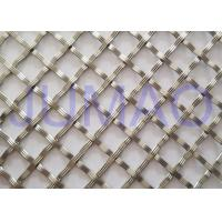 Quality 10 Mm Textured Cabinet Grille Inserts , Bright Metal Mesh Panels For Cabinets for sale