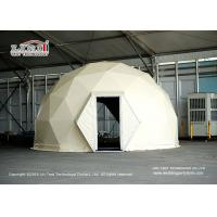 Quality 3-60M Diameter Geodesic Dome Tents For Outdoor Events Max. Allowed Windspeed 110km/H for sale