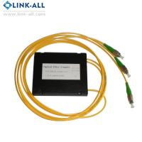 Buy cheap 1X2/4/8/16/32/64 Optical Fiber PLC Splitters ABS Box Type with SC/APC connector from wholesalers