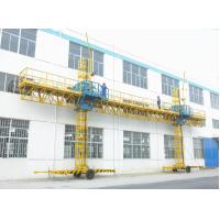Quality Twin Mast Climbing Platform 23.8m Length 2000kg Loaded climbing type construction lifting platform for sale