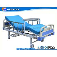 Quality Family / Hospital Singel Crank Home Hospital Beds With Aluminium Guardrails for sale