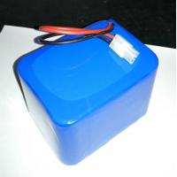 China 12.8V LiFePO4 26650 10Ah battery pack including PCM light solar UPS on sale