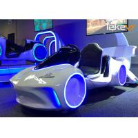 Quality Multiplayer 9D Virtual Car Driving Simulator Logo Customized For Amusement Center for sale