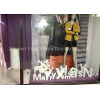 Quality Wide Range Materials Shop Display Christmas Decorations Decorative PVC Christmas Letters for sale