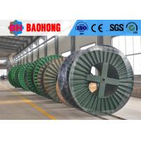 Quality Corrugated Flange Type Steel Cable Reeling Drum Stable Structure for sale