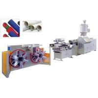 Quality Single wall corrugated pipe extrusion line for sale