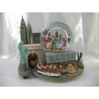 Quality polyresin Nativity water globe with light for sale