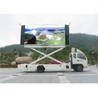 Quality Big Size Outdoor P6 LED Mobile Billboard 100 Levels Brightness Control for sale