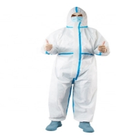 Quality Polypropylene Medical Non Sterile Disposable Surgical Gown for sale