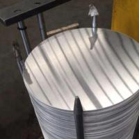 Quality Hot Rolled Aluminium Circle Plate 1.0mm Thickness Round Shape Mill Finished for sale