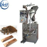 Quality 220v Automatic Coffee Packing Machine / Salt Packing Machine 25-145mm Film Width for sale