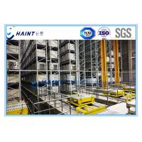 Quality AS RS Automatic Storage Retrieval System Improving Storage Space For Pallets for sale