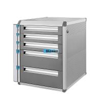 Quality Classic Colored Stainless Steel File Cabinet With Removable Tags for sale