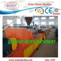 Quality Conical Twin Screw Extruder PVC Pipe Extrusion Line With High Output for sale