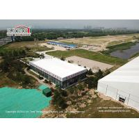 Quality Aluminum Cube Clear Span Tents with Thermal Roof Cover for Office House for sale