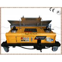 China Remote Control Automatic Wall Cement Plastering Machine Hydraulic Drive on sale