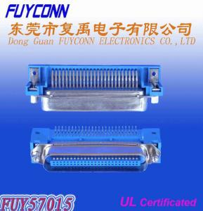 Quality Champ Centronic 14 Pin DDK PCB Right Angle Male Connector With Jack Screws for sale