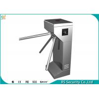 Quality Semi Automatic Tripod Turnstile Security Systems Compatic With IC Card for sale