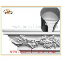Quality Silicon Rubber Mold Making for Plaster Cornice for sale