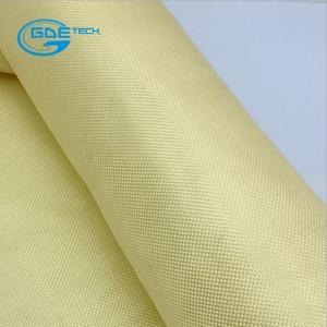 Quality 1000D 200gsm Twill Plain Woven bulletproof aramid fiber fabric for sale