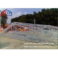 Quality 15m Span Aluminium Roof TrussesHand Hoist Strong Loading Capacity For Event for sale