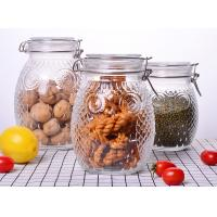 Quality Owl Shape Tea Glass Jar Container / Glass Storage Jar With Silicon On Lid for sale