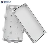 Dustproof Plastic Junction Box Indoor Outdoor Electric White PC Material Custom - Made