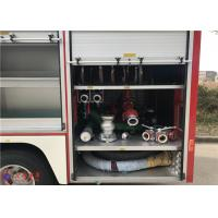Quality 88kw 2900hp Water Tanker Fire Truck With Hydraulic Control Clutch for sale