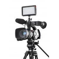 Quality Solid Light Weight Housing LED Camera Lights Black High CRI LED209As for sale