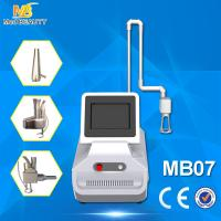 Quality co2 fractional laser skin rejuvenation & wrinkle removal machine with rf tube for sale