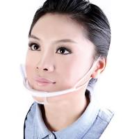 Quality Transparent Plastic Sanitary Surgical Clear Face Mask , Disposable Medical Face Masks for sale