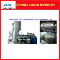 Quality Large caliber/ diameter HDPE pipe making machine for sale