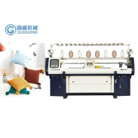 Quality Industrial Computerized Flat Sweater Knitting Machine 52in No Waste Yarn for sale
