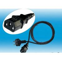 Quality Electrical Plug Computer AC Power Cord Socket Residential ROSH CE Certification for sale