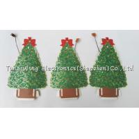 Buy cheap Christmas Tree Shaped Flashing LED Module , Recordable Voice Module For Greeting from wholesalers