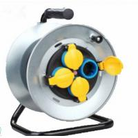 Quality 250V 16A Electrical Extension Cord Reel , Waterproof Extension Cable Drum With Cover for sale