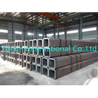 China Railway Constructions Seamless Steel Tube Cold Formed Square / Rectangle Shape on sale