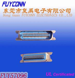 Quality 50 Pin Male Centronic Clip SMT Connector for 1.6mm PCB Board Certificated UL for sale