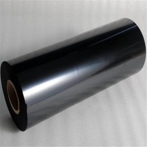 Quality Anhui Film 0.025mm Thickness Black PET Film Bright Fog Surface for sale