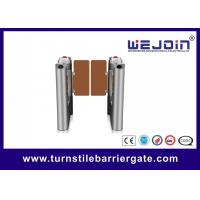 Buy cheap High- level  Turnstile Entry Swing Barrier Gate Systems For Club from wholesalers