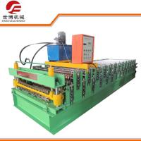 Quality Roof Use Double Layer Corrugated And IBR Profile Steel Roofing Sheet Roll Forming Machine 1035-1040 for sale