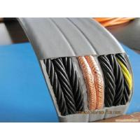 Quality Flat Flexible Traveling Cable for Elevator with CE certificate TVVBP 30Cx0.75+2x2Px0.75 with Special PVC Jacket for sale